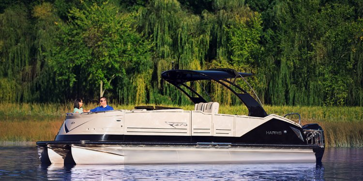 Harris V270 Pontoon Boat