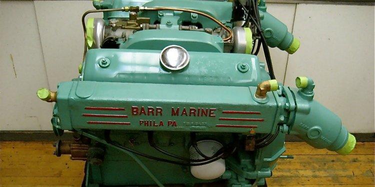 Ford 312 Marine Engine – Block