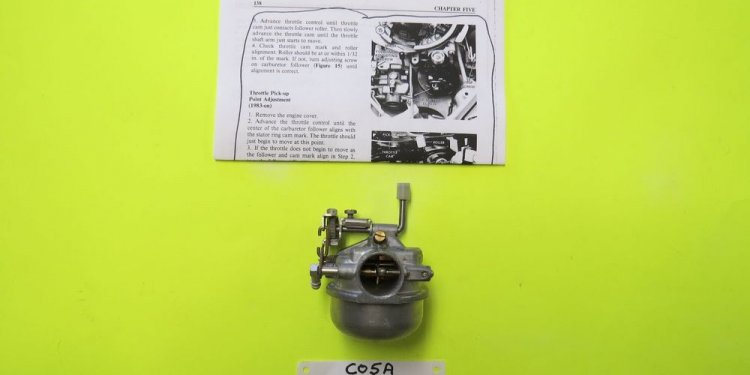HP Outboard Carburetor NEW