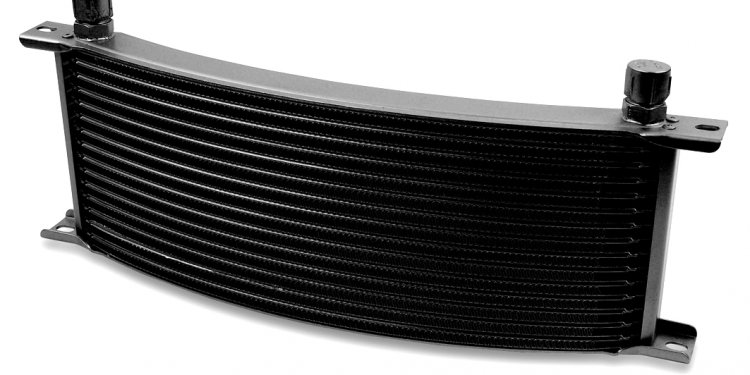 High performance Marine oil cooler