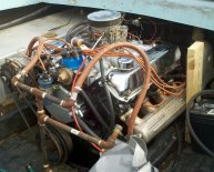 Closed cooling system for Boats