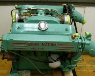 FORD MARINE engine motor